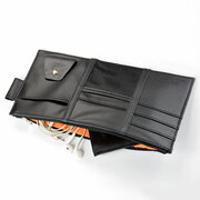 Multifunctional Leather Car Storage Bag Visor Cover Card License Holder Glasses Folder
