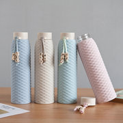 310ML Rattan Fashion Warm Serial Water Bottle Gift Cup Handy Cup