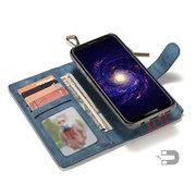 Coldre do telefone da Multi-função para o suporte de cartão magnético da carteira do zíper da carteira do couro Samsung S8 Plus