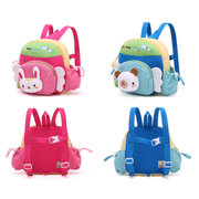 1-6 Years old Children Lovely Cartoon Backpack Cotton Crepe Soft Safe School Bag