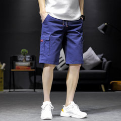 Season New Cotton Tooling Shorts Youth Cinq Pantalons Fashion Wild Casual Vêtements pour hommes
