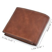 Vintage Short Multi-function Driver's License Multi-card Wallet For Men