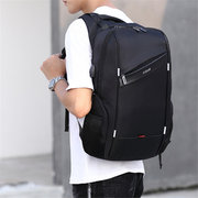 PU 15.6 Laptop USB Charging Water Repellent Escuela Mochila al aire libre Casual Business Bolsa para hombres