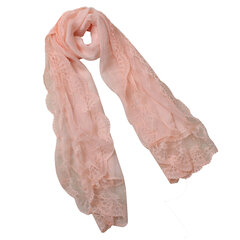 New Chiffon Lace Floral Sunscreen Soft Scarves Shawl Winter Warm Neck Wrap Scarf