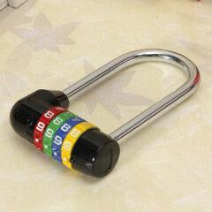 100mm 4 Stellige Code Kombinationsschloss Sicherheitsschloss Zahlenschloss Lock