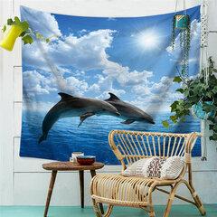 Serie di animali oceanici delfino del delfino del delfino di nuoto del modello della balena di assassino di modello