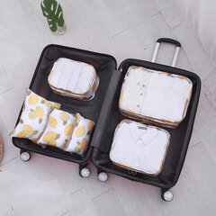 6Pcs Travel Storage Bag Lightweight Clothes Shoes Luggage Sorting Bag