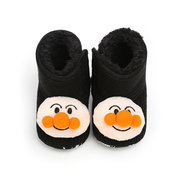 Cute Cartoon Patchwork Baby Shoes Fleece Boots For 0-12 Months