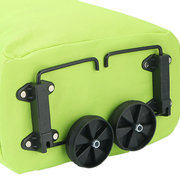 Wheel Foldable Luggage Bag Oxford Waterproof Folding Bag Large Outdoor Travel Shopping Trolley