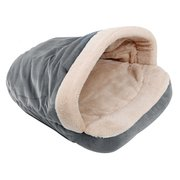 4 Colors Short Plush Warm Pet Sleeping Bag Kennel Thickened Plush Bed for Cats Small Dogs