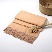 LYZA 200CM Winter Wool Scarf For Women Solid Color Large Size Scarf and Shawl Blanket Dual Use