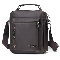 Uomo Vintage Tracolla in Oxford da Casual Business Borsa a Spalla
