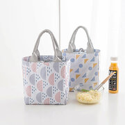 Bunch Mouth Insulation Package Outdoor Picnic Bag Waterproof Fresh Cold Portable Lunch Bag