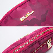 CHIBAO Oxford Zipper Clutches Bags Girls Light Water-resistant Cute Small Phone Bags