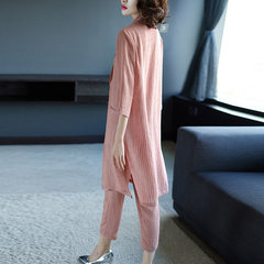 Royal Sister Fashion Casual Suit Straight Pants Suit Goddess Foreign Dress New Female Three-piece Suit