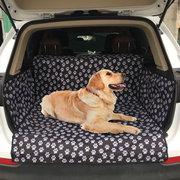 Pet Dog Travel Waterproof Car Mat  SUV Trunk Pet Car Seat Cover