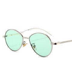 Винтаж Солнцезащитные очки Personality Metal UV400 Модные солнцезащитные очки На открытом воздухе Туристические солнцезащитные очки