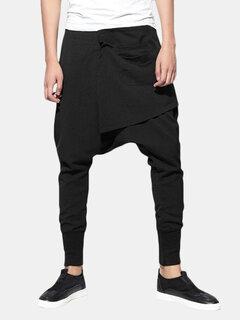 Harem Pants Baggy Slacks Trousers Sportwear Casual Jogger Dance Sweatpants for Men