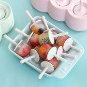 Molde de hielo de trigo Rejilla de helado Hogar Hielo casero Cube Molde