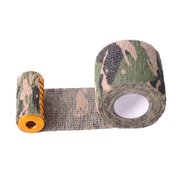 Camouflage Elastic Self-adhesive Tattoos Protecting Bandage Disposable Handle Grip Cotton
