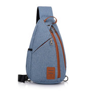 Canvas Sports Chest Bag Leisure Outdoor Crossbody Bag For Men