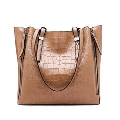 Crocodile Large Capacity Tote Bags Shoulder Bags Designer Handbags For Women