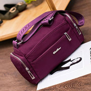 Women Nylon Functional Crossbody Bag Outdoor Casual Nylon Shoulder Bag