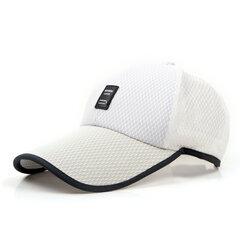 Mens Womens été acrylique Mesh Visor Baseball Cap Outdoor Casual respirant réglable Sports Hat