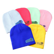 Baby Kids Toddler Warm Solid Knitting Cap &Scarf Beatle Suit Hats