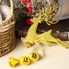 Neue Weihnachtshirsch-Anhänger Ornamente Festival-Party-Weihnachtsbaum-hängende Dekoration
