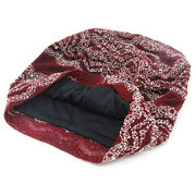 Women Cute Lace Flexible Ponytail Beanie Vogue Vintage Multifunctional Casual Scarf Hat