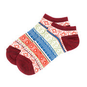Men Women Comfortable Short Socks Breathable Cotton Sweat Dry Ankle Socks Stripe Socks