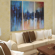 3Pcs Modern Abstract Canvas Painting Frameless Wall Art Bedroom Living Room Home Decor