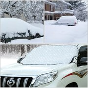 Universal 4 Seasons Magnetic Car Windscreen Cover Protect from Sun Ice Snow Frost 186x97cm