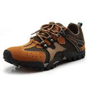 Men Mesh Hiking Slip Resistant Outdoor Sport Sneakers