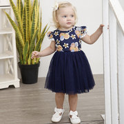 Patch Designs Toddler Girls Sleeveless Party Princess Dress For 1Y-9Y