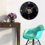 Retro Vintage Classic Disc Wall Clock For Gift Home Pub Cafe Decor Creative