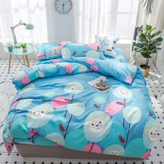 4 pezzi Princess Bedding Set Queen King Size Bedding Copripiumino Federe