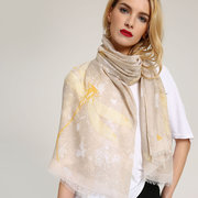 MEANBEAUTY 180cm*80cm Summer Thicker Blanket Scarf Dragonfly Printing Shawl