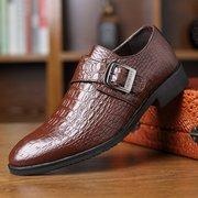 Männer stilvolle Krokodil-Muster-Haken-Schleifen-Geschäfts-formale Kleid-Schuhe