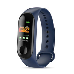Waterproof Heart Rate Blood Pressure Monitor Camera Control USB Charging Smart Watch