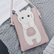 Cartoon Cat 5.5inch Phone Bag Shoulder Bag Crossbody Bags Hang Bag