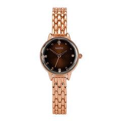 Elegantes kleines Zifferblatt Damen Quarzuhr Wasserdichte Uhrenarmbanduhr aus Edelstahl