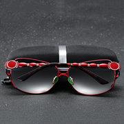 Women Retro Brand Designer Lunettes de soleil polarisées UV400 Driving Lunettes de soleil Lunettes