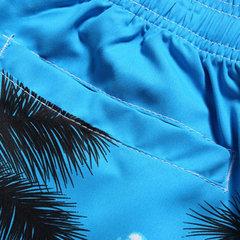 Praia Árvores de secagem rápida para férias Coco que imprimem shorts de prancha havaianos para homens