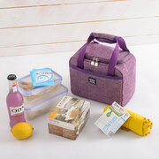 Insulated Lunch Box Waterproof Cooler  Thermal Picnic Bento Bag Work School