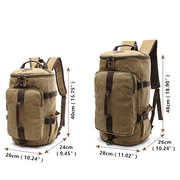Canvas Multi-functional Large Capacity Travel Outdoor Backpack For Men