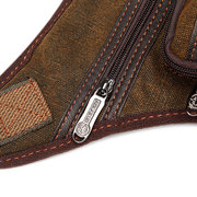 Handytasche feste Segeltuchbeinbeutel Vintage beiläufige Gürteltasche für Männer