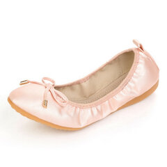 Big Size Egg Roll Slip On Color Piatto Butterfly Knot Folded Shoes