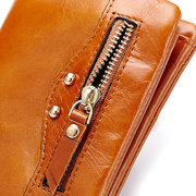 Women High-end Genuine Leather Wallet Purse Coin Bag